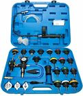 28pc Radiator Pressure Tester and Vacuum Type Universal Cooling System Kit CA