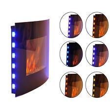 Homcom Elektrokamin Kaminofen Kamin Wandkamin mit Fernbedienung 2 Maße LED Licht