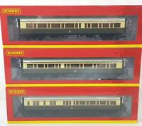 HORNBY R4681 R4682 R4683 - GREAT WESTERN GWR COLLETT EXPRESS COMPOSITE COACH SET