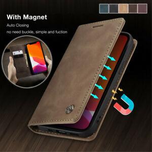 Hülle Samsung Galaxy PU Leder Magnet Handy Tasche Schutz Flip Case Etui Wallet