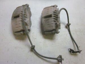 Pontiac GTO 2004 Front Brake PBR Calipers & Brackets - Pair Rh & Lh