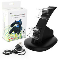 For Xbox One / One X / One S Controller Dual Charger Dock Station Charging Stand