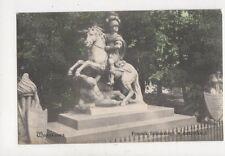 Warszawa Warsaw Pomnik Sobieskiego w Lazienkach Poland Vintage Postcard 887a