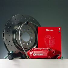 Brembo Bremsanlage VW Golf (III) (Models with 4 fixing holes) Vorderachse