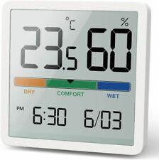 Noklead Digital Thermohygrometer Portable Indoor Hygrometer High...