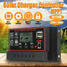 10A-30A MPPT 12V/24V Solar Charger Controller USB Dual Solar Panel Regulator