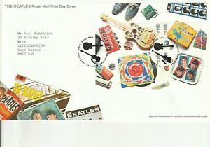 2007 THE BEATLES MS    FDC  FIRST DAY COVER   SUPERB