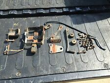 1977 1978 HONDA  XL350 engine mounts bolts nuts battery brackets exhaust bracket