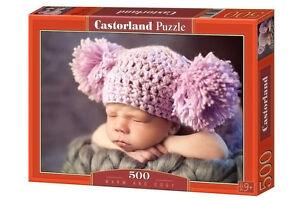 Puzzle 500 Teile Süßes Baby mit Bommeln (B-51793)