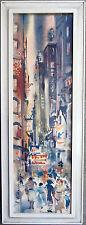 Atsushi Kikuchi/Chicago Loop/Facsimile Watercolor, c. 1950s-60s
