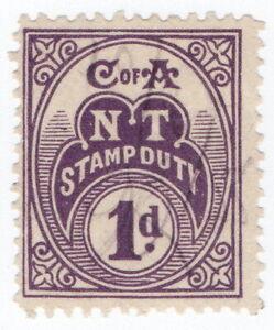 (I.B) Australia - Northern Territory Revenue : Stamp Duty 1d