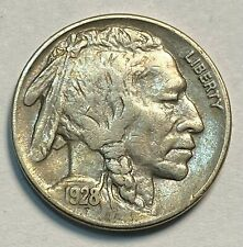 1928 Buffalo Nickel Nice Original AU CHN