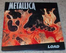 LARS ULRICH SIGNED AUTOGRAPH METALLICA LOAD VINYL ALBUM w/EXACT VIDEO PROOF
