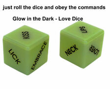 Dice Glow-In-The-Dark Saucy Adult Fun Naughty Gift Romantic Sex Aid Couple Games