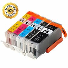 5PK PGI-270 XL CLI-271 XL Ink Cartridges for Canon PIXMA MG5720 MG5722 MG6821