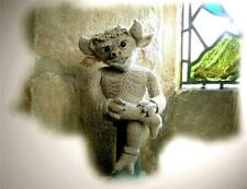 LINCOLN CATHEDRAL IMP toy knitting pattern by Georgina Manvell