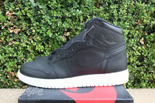 NIKE AIR JORDAN 1 RETRO HIGH OG BG SZ 7 Y BLACK WHITE CYBER MONDAY 575441 006