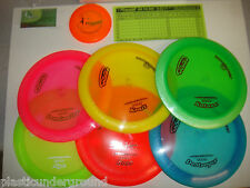NEW INNOVA BLIZZARD CHAMPION PLASTIC 6 PACK DISC ULTIMATE DISTANCE DRIVER SET LW