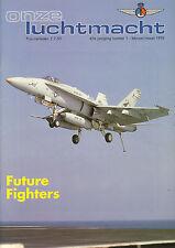 ONZE LUCHTMACHT - JAARGANG 1993 (6 losse nummers)