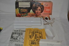 DAZEY Vintage SEAL A MEAL KANSAS CITY USA MADE INSTRUCTIONS in BOX
