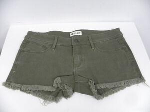 Roxy  Shorts Sz 27 Lovin Colors Olive
