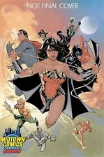 JUSTICE LEAGUE VOL.3 #1 DODSON MIDTOWN COMICS COLOUR VARIANT DC COMICS