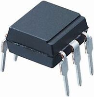 TI CNY17-1 Optocoupler DC-IN 1-CH Transistor 6-Pin Dip New Lot Quantity-10