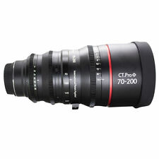 Cinematics Customized Cine lens Canon 70-200mm F2.8 EF Mount For DSLR Camera