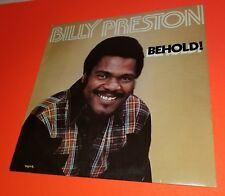 Billy Preston - Behold 1978 LP Record in great shape with Original inner sleeve