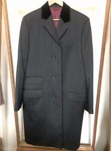 Charles Tyrwhitt Covert Coat 38L Charcoal Grey
