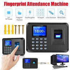 Biometric Fingerprint Checking In Attendance Machine Icd Employee Time Clock Usa