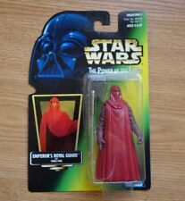 VINTAGE EMPEROR'S ROYAL GUARD FIGURE 1997 Star Wars Red Cloak Power of the Force