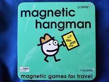 GoPlay Magnetic Hangman Travel Game Fridge