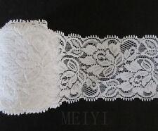Wonderful Vintage White Lace Trim Bridal Wedding Ribbon Trimmings Sewing Craft