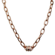 Kirks Folly Fame Chain Magnetic Interchangeable Necklace (Rose Goldtone)
