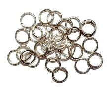 30 x sterling silver split rings-job lot