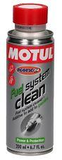 Detergente carburatore Motul Fuel System Clean Moto per motori 4t - 400 ml