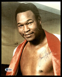 Larry Holmes Certified Authentic Autographed Signed 8x10 Photo Beckett T29185