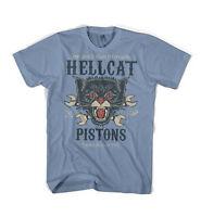 Iron Jaw Motorcycles Hellcat Pistons biker vintage retro biker style t-shirt