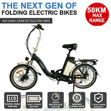 FOLDING EBIKE ELECTRIC BIKE BICYCLE 250W 36V 10AH PEDAL ASSIST FOLDABLE EBIKE