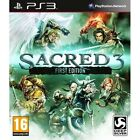 Sacred 3 First Edition PS3 Game Sony PlayStation 3 PS3 Brand New