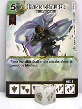D&D Dice Masters - #040 Invisible Stalker - Lesser Elemental - Battle for Faerun