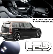 MINI Cooper  R55 CLUBMAN S D Pack 12 Ampoules LED Blanc Coffre Plafonnier portes