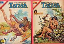2 Tarzan Spanish Comics Lot 2-740 and 2-761 (1981) Novaro Aguila Mexico