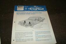 1975 1/2 FORD GRANADA IMPROVEMENTS DEALER SALES NEWSFLASH BROCHURE SHEET