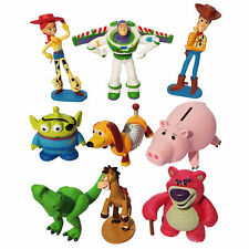 Toy Story Set of 9 Figures Toy / Cake Toppers NEW