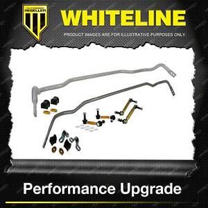 Whiteline Front and Rear Sway Bar Stabiliser Kit for KIA STINGER CK
