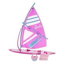 Barbie Lets Go Windsurf Girls Pretend Play Doll Accessory Set BDF37
