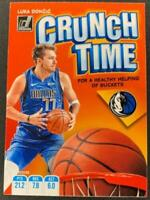 2019-20 Donruss NBA Crunch Time #10 Luka Doncic Dallas Mavericks  Official Panin