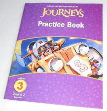 Houghton Mifflin Harcourt Journeys Practice Book Student Workbook Grade 3 V2